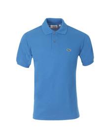 Lacoste Mens Blue L1212 Antilles Plain Polo Shirt