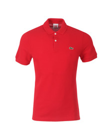 Lacoste Live Mens Red Plain Polo Shirt PH0587