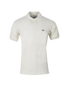 Lacoste Mens Off-white L1212 Vanillier Plain Polo Shirt