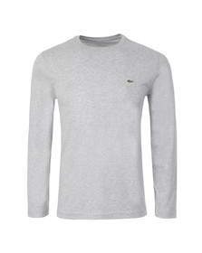 Lacoste Mens Grey TH5276 Long Sleeve T-Shirt