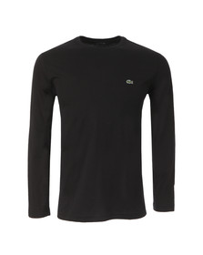 Lacoste Mens Black TH5276 Long Sleeve T-Shirt