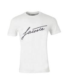 Lacoste Mens White TH2198 T-Shirt