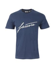 Lacoste Mens Blue TH2198 T-Shirt