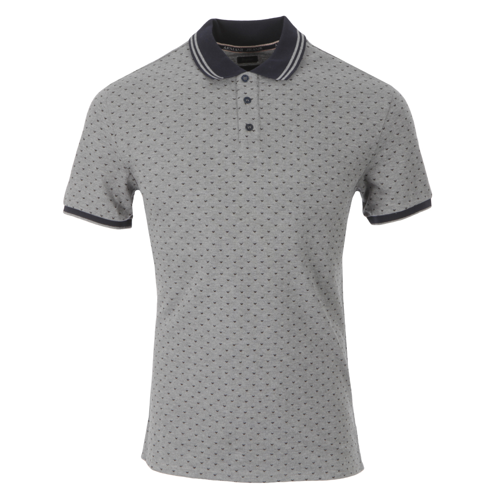 e2fa4af8 Armani Jeans B6M06 Logo Polo Shirt | Oxygen Clothing