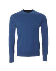 Paul Smith Jeans Mens Blue Knitted Crew Neck Jumper