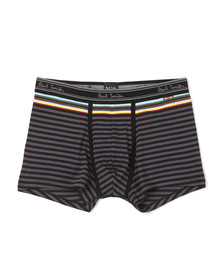 Paul Smith Jeans Mens Grey Stripe Low Rise Trunk