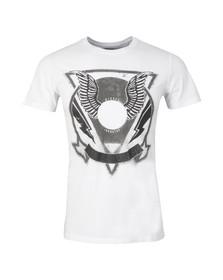 Diesel Mens White Clar T Shirt