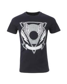 Diesel Mens Blue Clar T Shirt