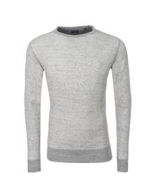 Diesel Mens Grey Erastos Crew Sweatshirt