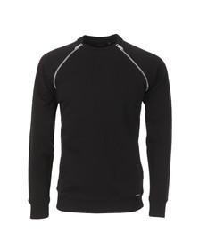 Diesel Mens Black Black Sweatshirt