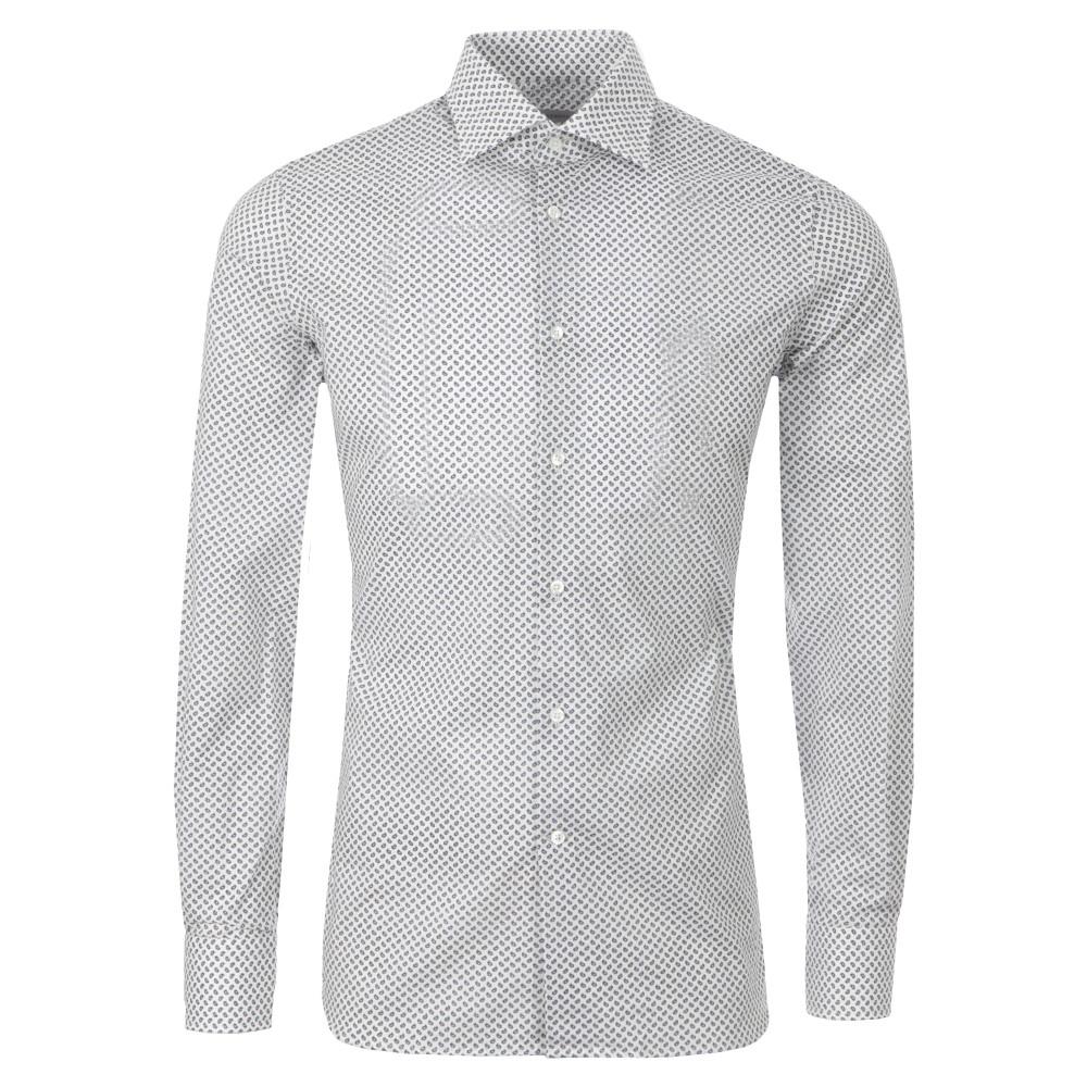 J Lindeberg Daniele Ca 60 S Print Shirt Oxygen Clothing