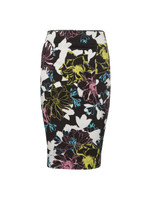 Botanical Trip Pencil Skirt
