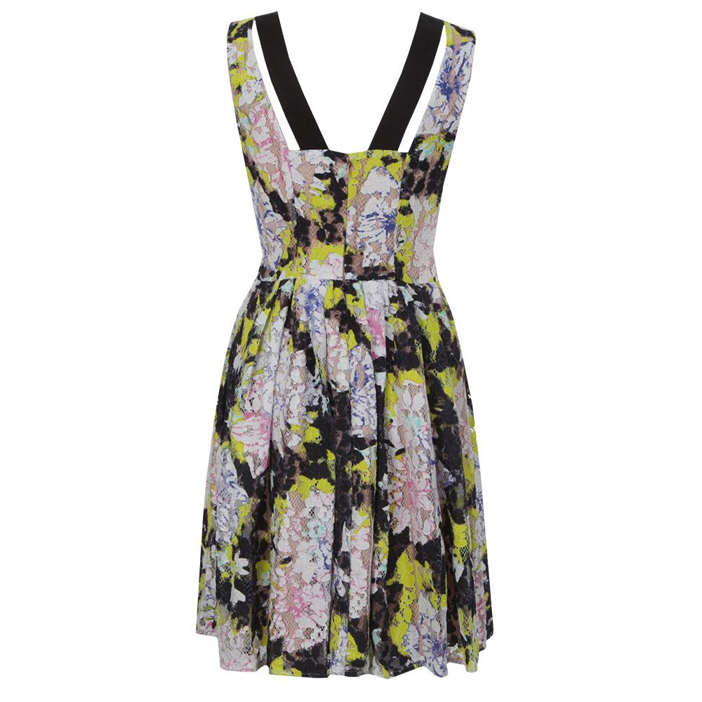 Botanical Trip Lace Dress main image
