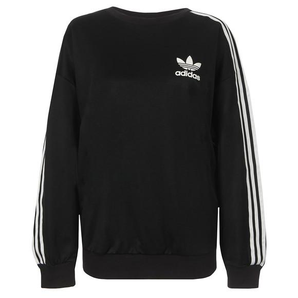 adidas Originals Womens Black Beckenbauer Sweatshirt main image 95e742520