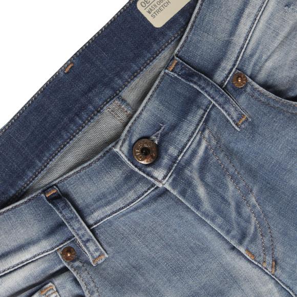 Diesel Womens Blue Diesel Grupee Skinny Jean main image