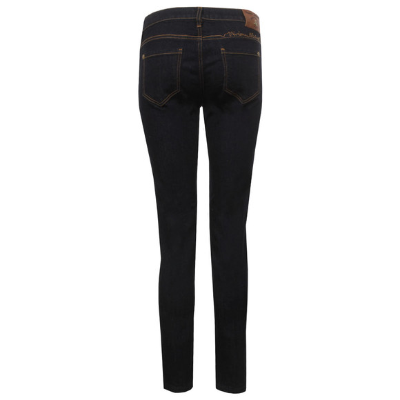 Vivienne Westwood Anglomania Womens Blue AR Signature Skinny Jean main image