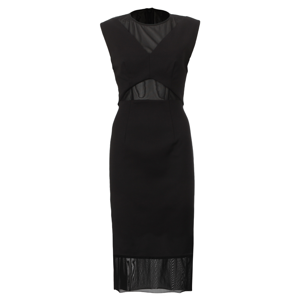 Glass Stretch Cap Sleeve Maxi Dress main image