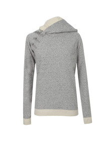 Maison Scotch Womens Grey Home Alone Double Hooded Sweat