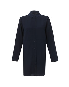 French Connection Womens Blue Samantha Shirt