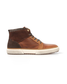 Pantofola d'Oro Mens Brown Benevento Mid Trainer