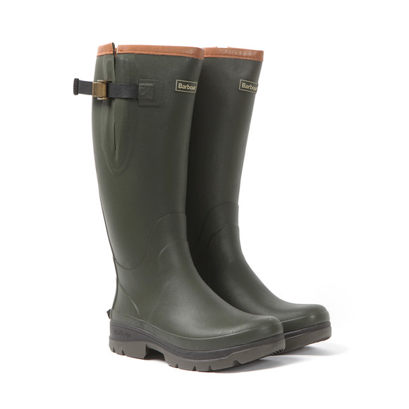 Barbour Countrywear Mens Green Tempest Wellington Boot main image