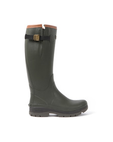 Barbour Countrywear Mens Green Tempest Wellington Boot