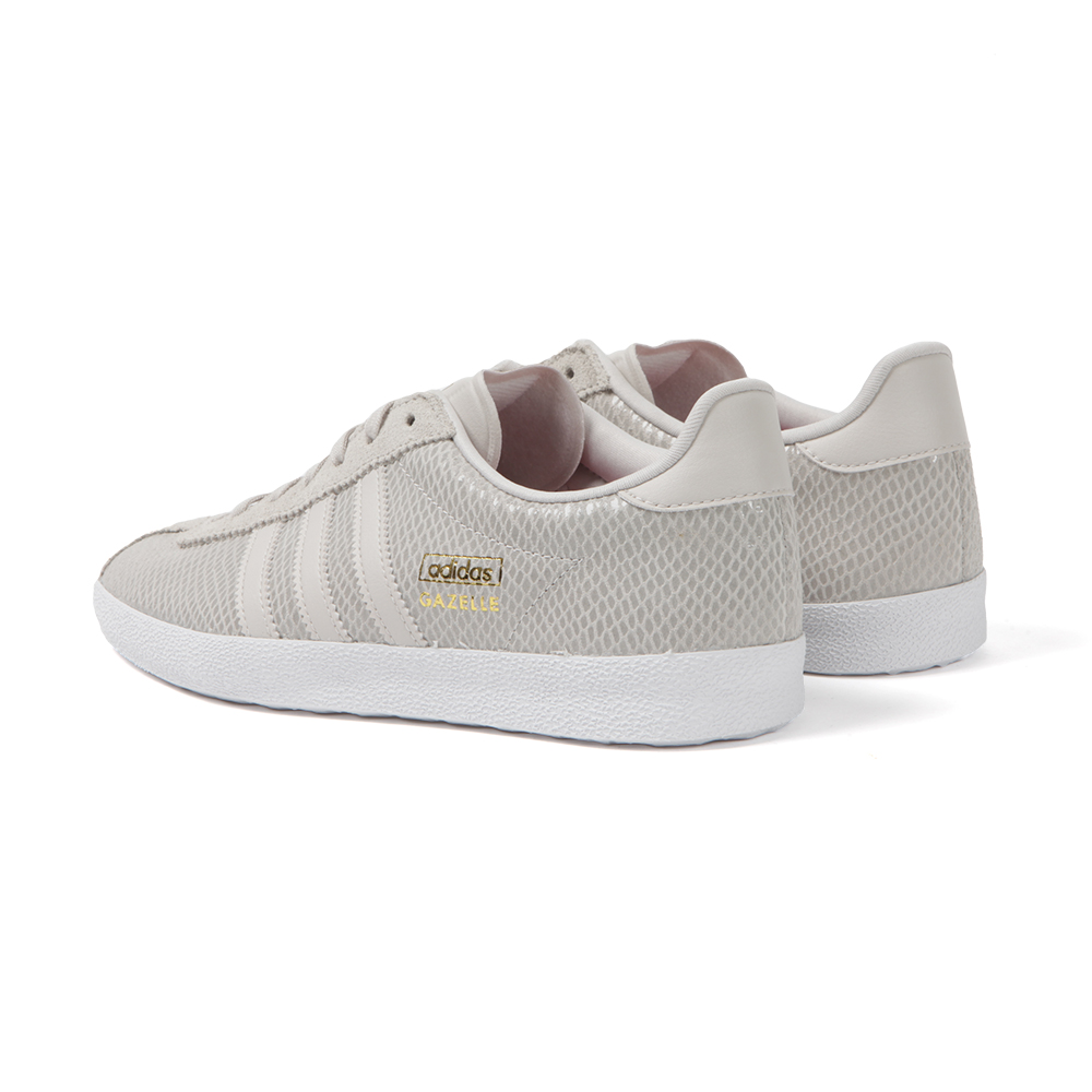 Adidas Originals Womens Grey Gazelle OG W Trainer main image. Loading zoom
