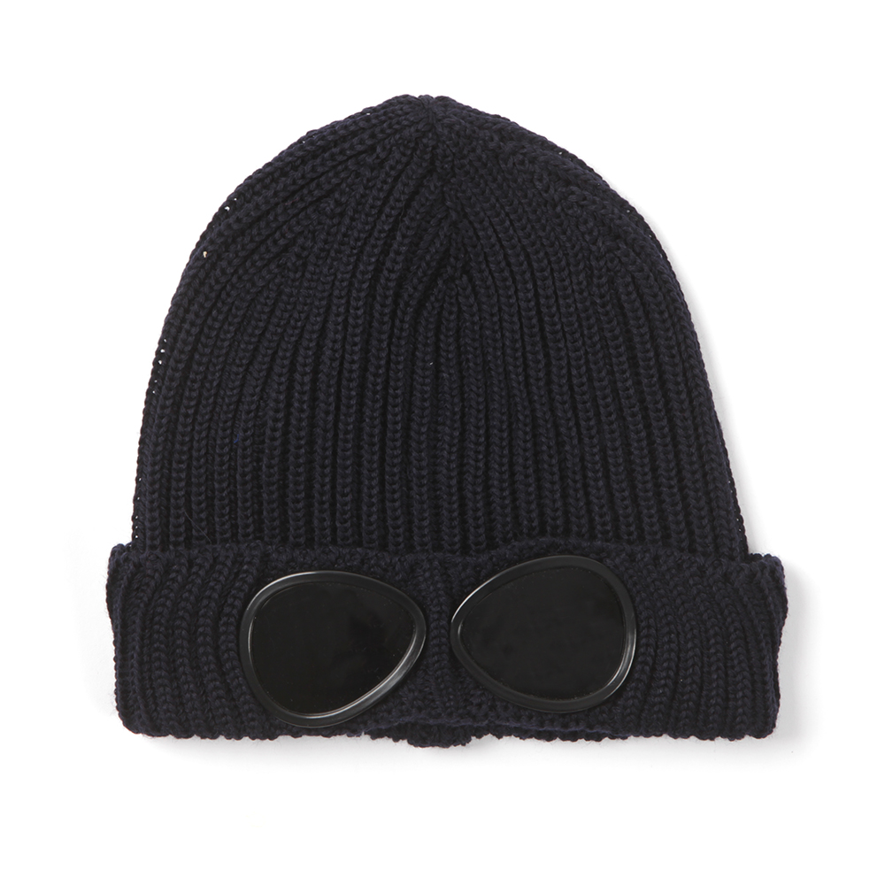 096cc01e5 Boys Blue Knitted Goggle Hat