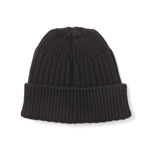 Stone Island Junior  Boys Blue Boys Knitted Ribbed Beanie main image