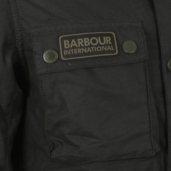 Barbour International Mens Green Blackwell Wax Jacket main image