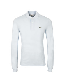 Lacoste Mens Blue L1312 Ruisseau Long Sleeve Polo