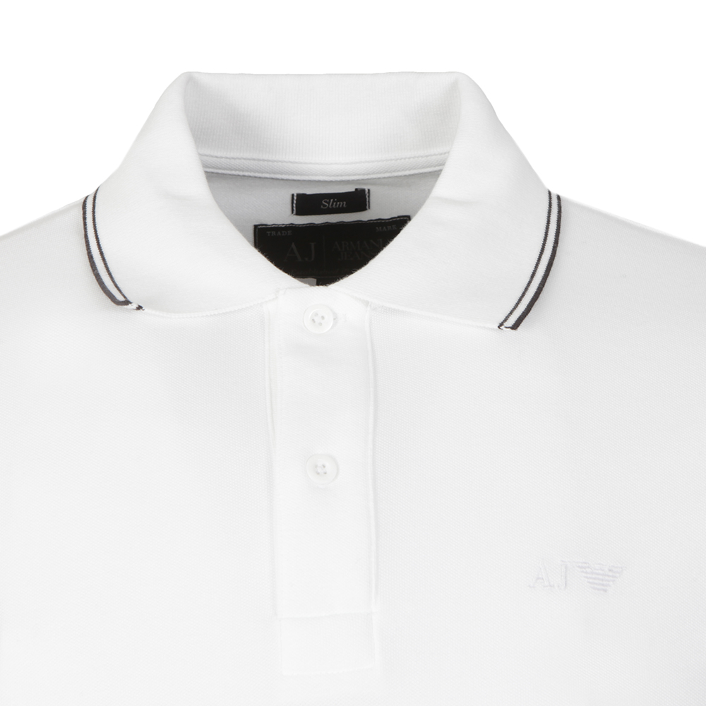 06M36 Long Sleeve Tipped Polo Shirt main image