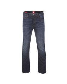 Pretty Green Mens Blue Burnage Regular Fit Jean