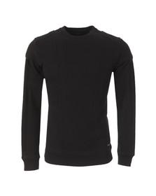 Diesel Mens Black Kawa Sweatshirt