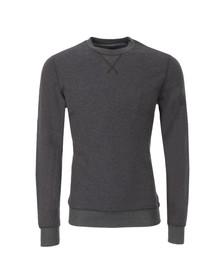 Diesel Mens Grey Lisse Crew Sweatshirt