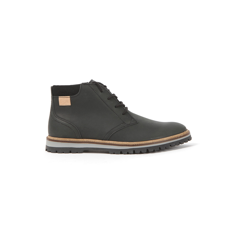 15ee686f0 Lacoste Mens Black Montbard Chukka SRM Boots