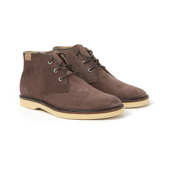 Lacoste Mens Brown Sherbrooke Hi 14 SRM Boots main image