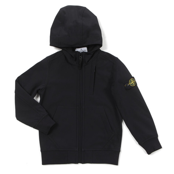 Stone Island Junior  Boys Black Soft Shell Jacket main image