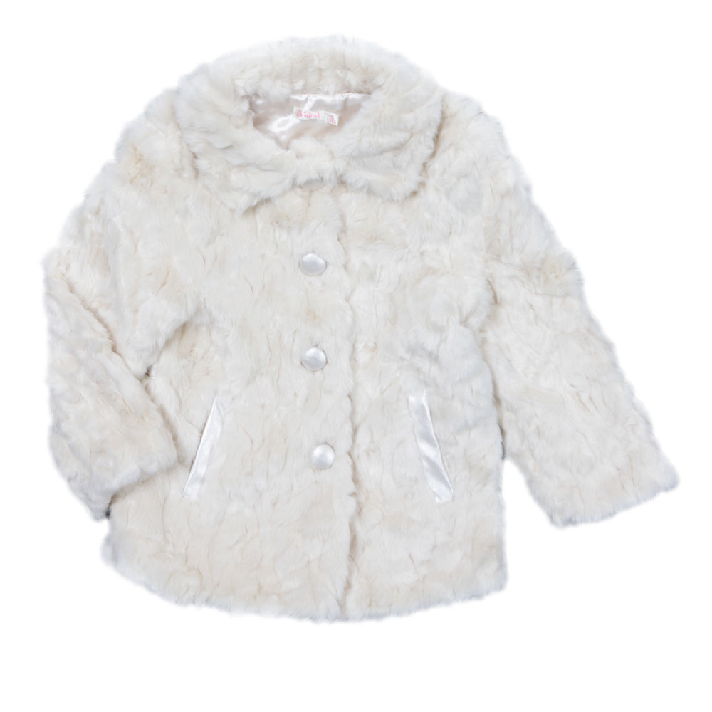 Girls Faux Fur Coat main image