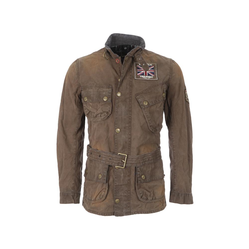 Barbour International Triumph Legend Wax Jacket Oxygen
