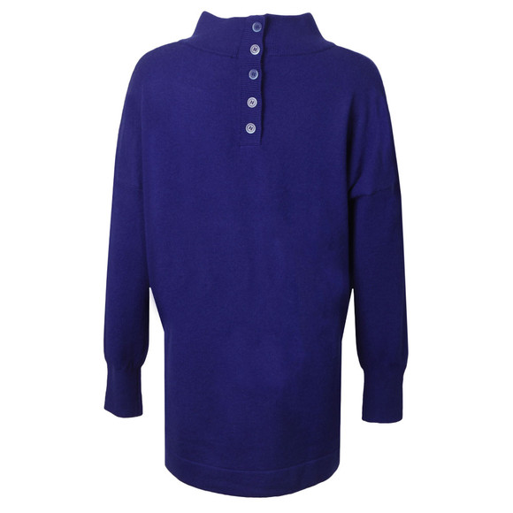 French Connection Womens Blue Ziggy Vhari Highneck Jumper main image