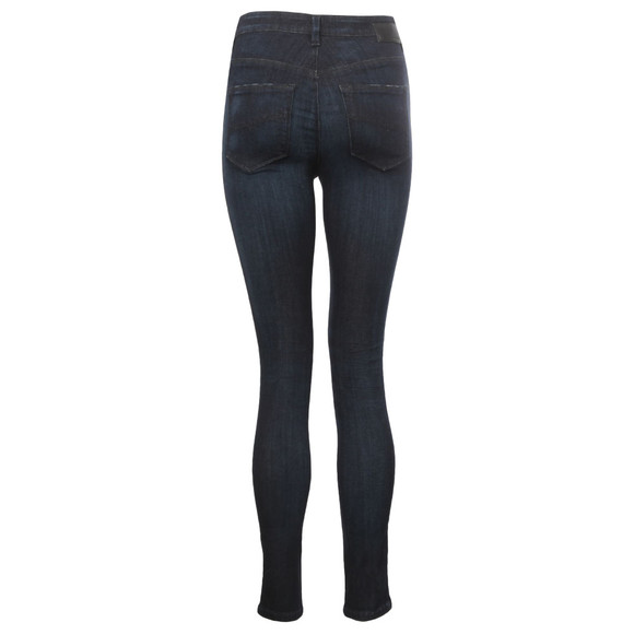 Diesel Womens Blue Skinzee High  main image