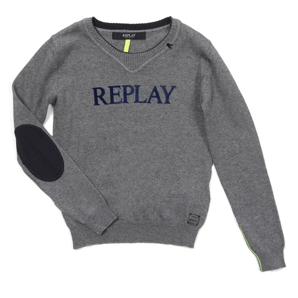Boys Crew Neck Jumper  main image