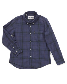 Barbour Countrywear Boys Blue Docherty Shirt