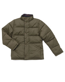 Barbour Countrywear Boys Green Boys Holden Quilt Jacket