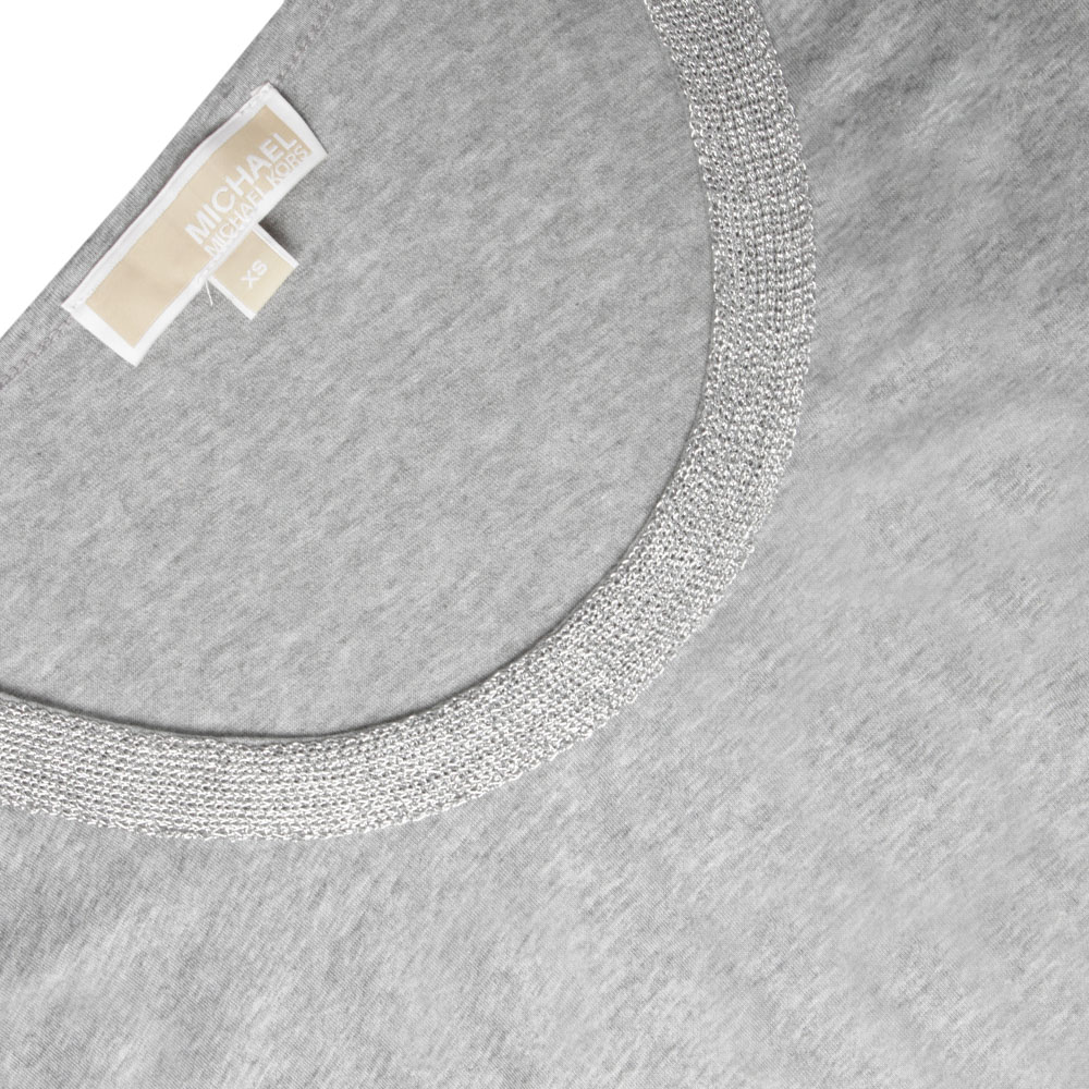 Metallic Trim Long Sleeve  main image
