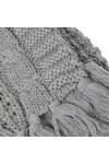 Diesel Mens Grey K-Marylin Knitted Scarf