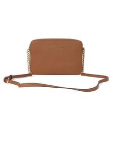 Michael Kors Womens Brown Jet Set Travel Shoulder Bag