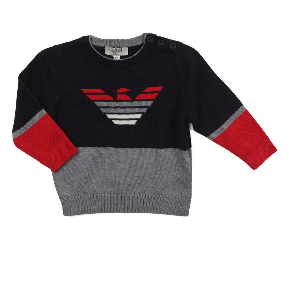 Armani Baby BDM08 Knitted Jumper  be985cf02968d