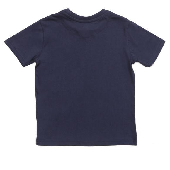 Lyle And Scott Junior Boys Blue Plain Crew T Shirt main image
